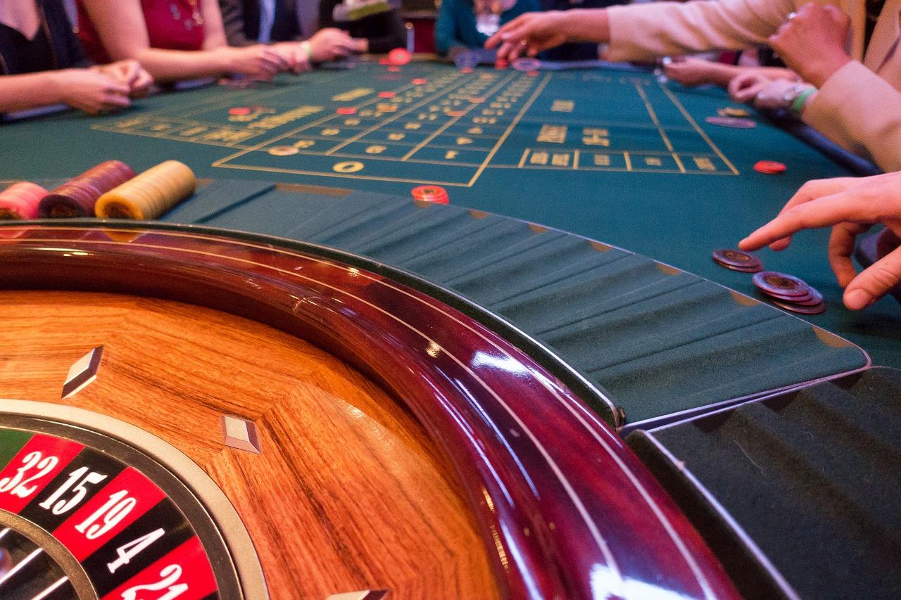 Junggesellenabschied im Casino